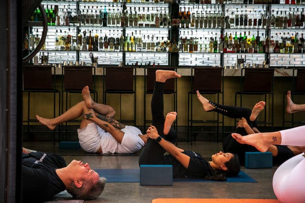 virtual office fitness classes
